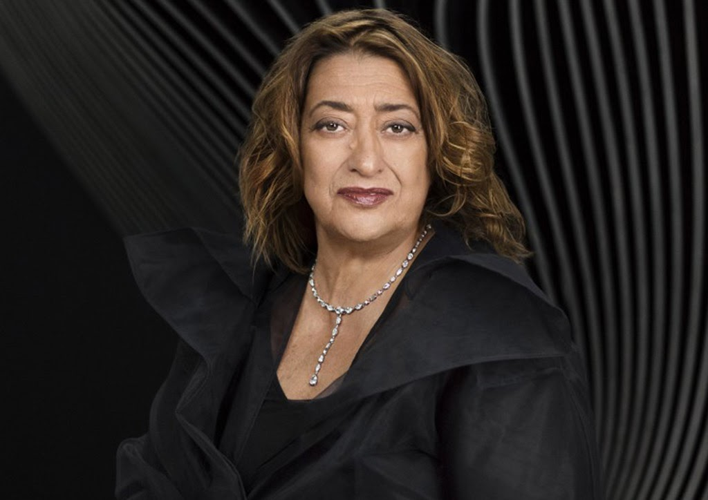 Zaha Hadid (Nguồn: Mary McCatney courtesy of RIBA)