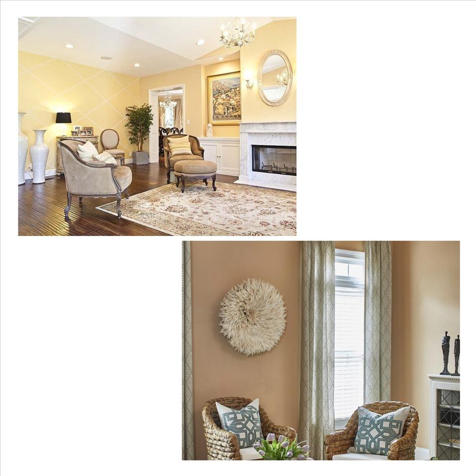 Màu vàng khiến không gian phòng có cảm giác ấm áp, gần gũi, bên cạnh đó còn bù đắp cho một căn phòng thiếu ánh sáng. Ảnh minh họa: Phương Duy