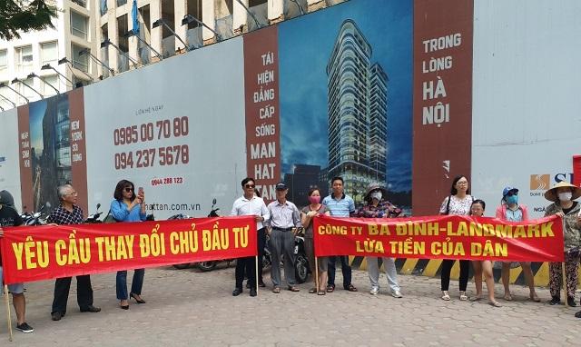 Tranh chấp tại các dự án chung cư cao tầng gây bức xúc dư luận và bất ổn xã hội. Ảnh: Mai Vân