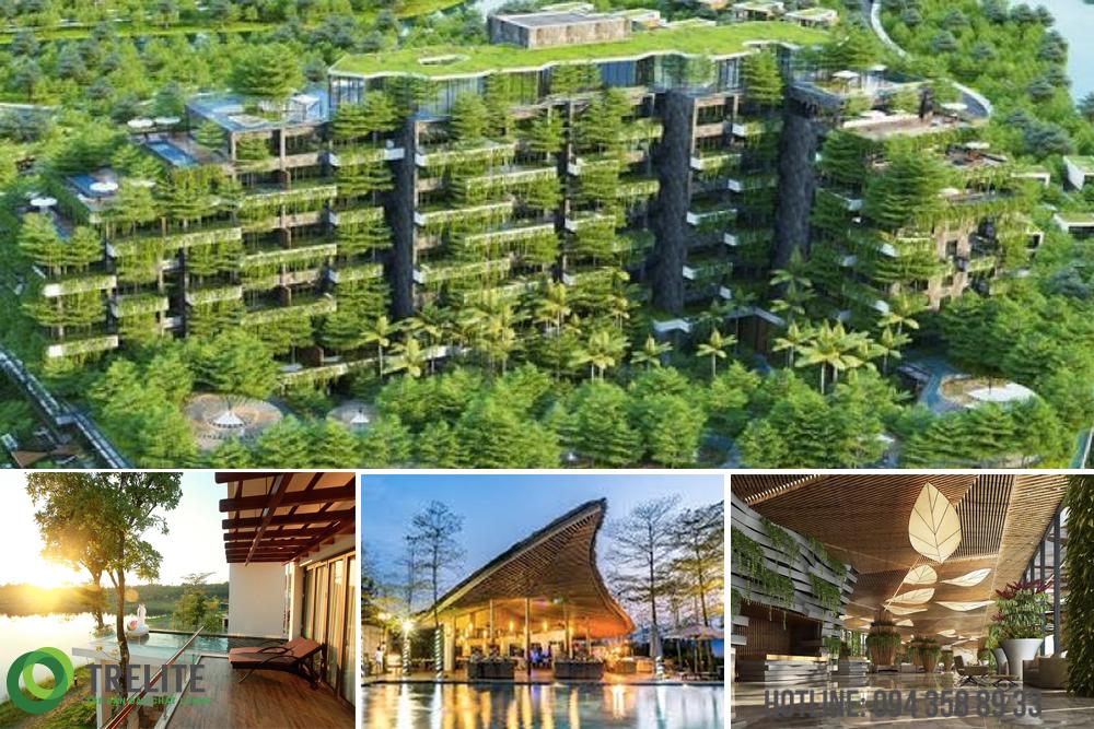Forest In The Sky - Công trình xanh Top 10 thế giới, sử dụng vật liệu tre chất lượng hàng đầu Thế giới