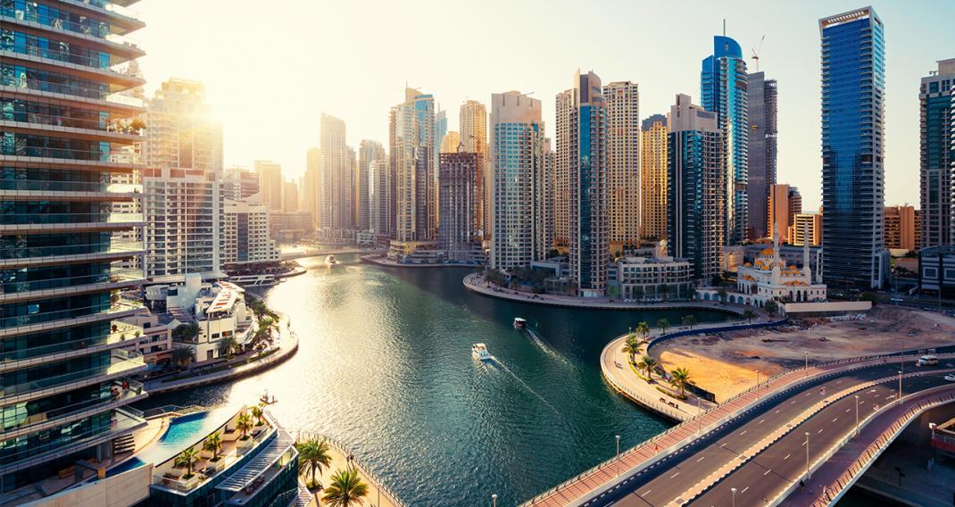 Thành phố trên biển ở Dubai