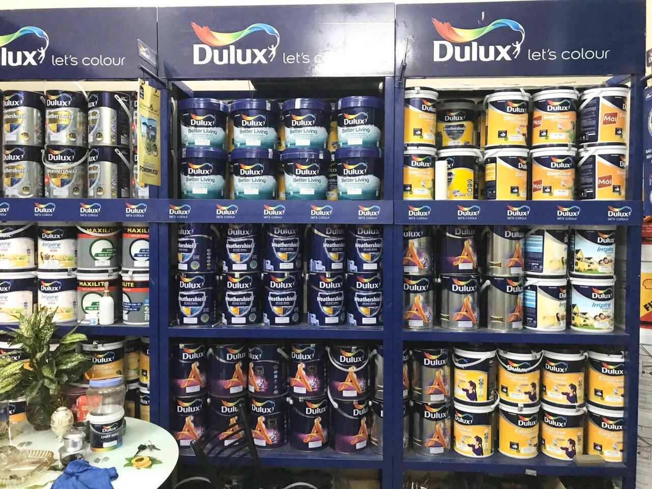 Các dòng sơn an toàn, bảo vệ sức khỏe được quan tâm nhiều trong mùa xây dựng cuối năm 2020. (Ảnh: Đại lý sơn Nga Tường của Dulux tại Quảng Ninh)