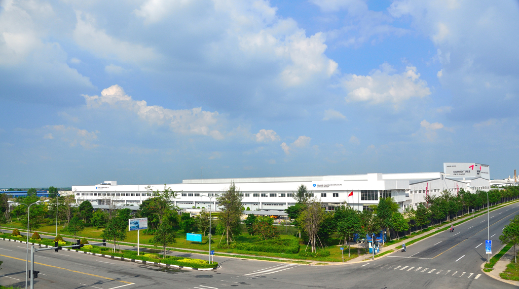 Nhà máy Colgate Pamolive – Nhà máy đầu tiên đạt chứng chỉ công trình xanh tại Việt Nam, LEED Bạc, 2010