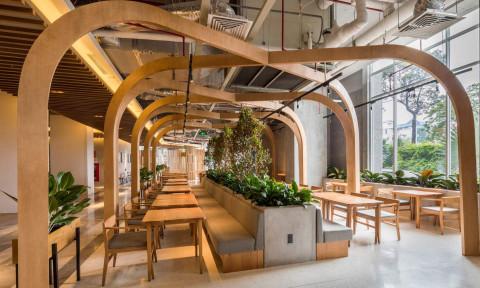 Nhà hàng Pizza 4P's The Emporium – không gian định hướng theo tầm nhìn của thương hiệu