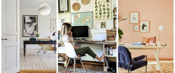 Những bức ảnh về gia đình, bạn bè và thú cưng tạo thêm nét đẹp cho không gian bàn làm việc của bạn. Hoặc nó cũng không nhất thiết phải là hình người, có thể là một khung ảnh với câu danh ngôn hay hay, tạo cảm hứng hoặc một bức tranh trừu tượng, một cảnh thành phố mà bạn yêu thích...