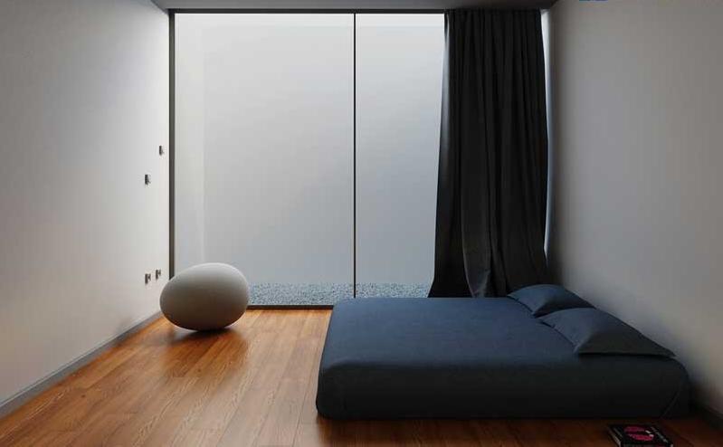 Phòng ngủ không cửa sổ với những thiết kế đơn giản để không gian thông thoáng và sáng sủa hơn