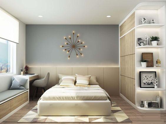 Cách bài trí đồ đạc hợp lý, tạo không gian cho căn phòng