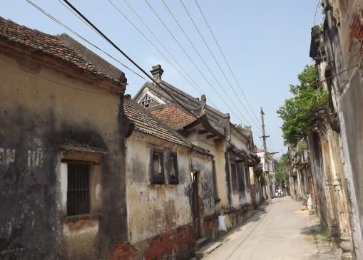 Không gian kiến trúc cảnh quan làng Cựu