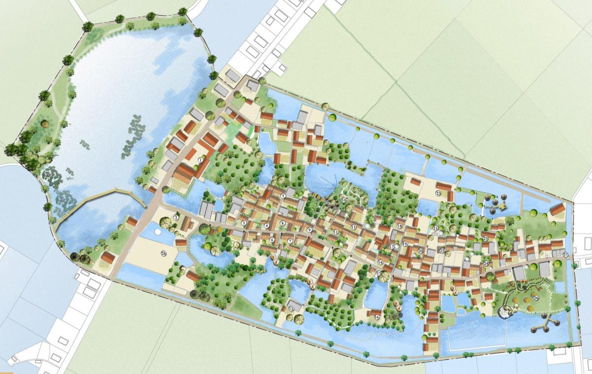 Bảo tồn - phát triển các không gian xanh - mặt nước quanh làng