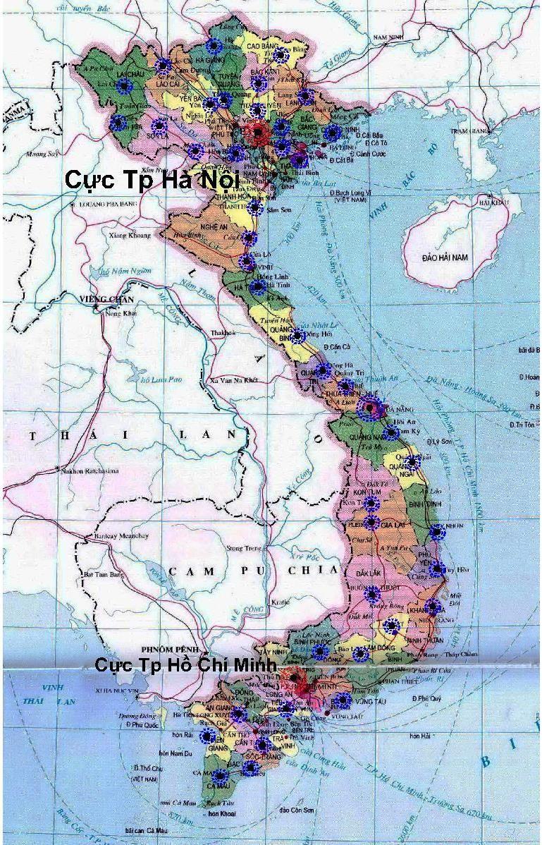 Bao quanh đô thị trung tâm là nông thôn, đô thị hóa phần lớn phát triển trong đất liền, đồng bằng