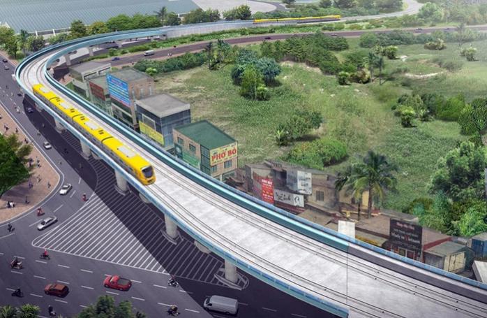 Dự án metro Văn Cao - Hòa Lạc có tổng mức đầu tư ước khoảng 65.404 tỷ đồng