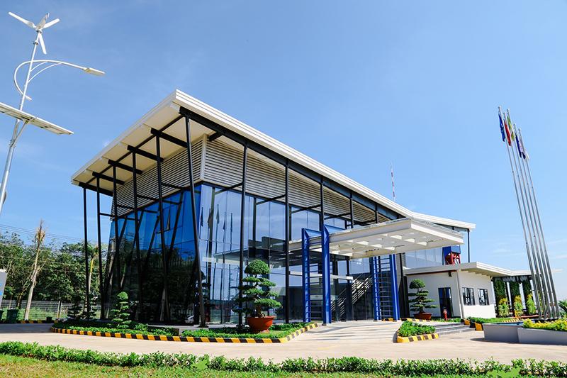 nhà máy ATAD Đồng Nai là nơi đầu tiên của Việt Nam đạt chuẩn công trình xanh LEED Platinum