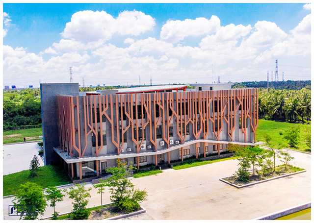 Thư viện có mức đầu tư khủng với 58,417 tỷ đồng.
