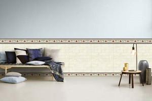 Hạn chế ẩm mốc bằng gạch ốp chân tường