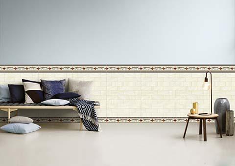 Gạch ốp chân tường có tác dụng bảo vệ tường của bạn tránh khỏi ẩm mốc, đem lại tính thẩm mỹ cho không gian