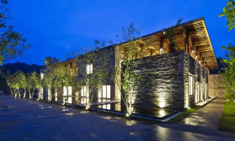 Độc đáo với ý tưởng thiết kế nhà hàng bằng tre ở Sơn La