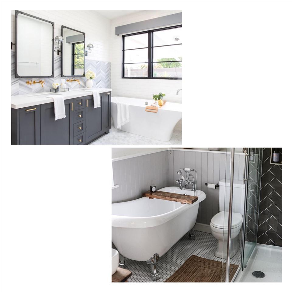 Gạch phòng tắm nếu không thoát nước tốt sẽ khiến nước đọng, làm mất mỹ