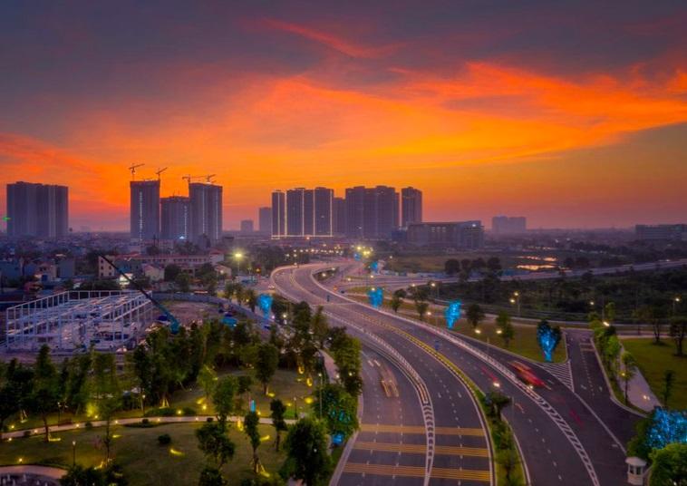 Với hệ thống hạ tầng đồng bộ cùng nhiều dự án lớn đang triển khai, BĐS khu vực phía Tây Hà Nội đang nơi sôi động nhất thị trường