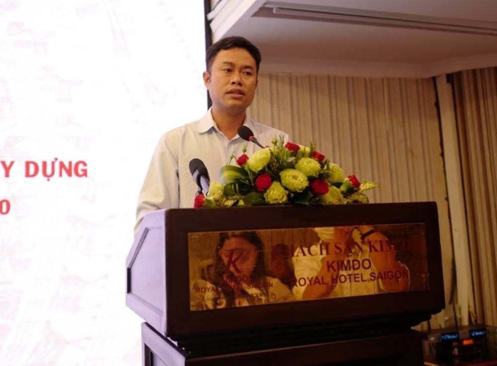 Ông Trần Nguyễn Thanh Tâm, Phó Chánh Thanh tra tỉnh Bạc Liêu phát biểu ý kiến, kiến nghị