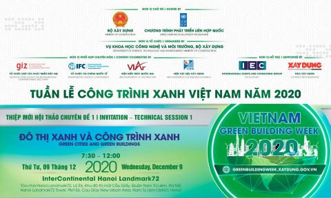 Tuần lễ Công trình xanh Việt Nam 2020