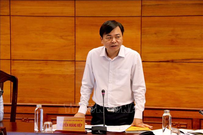 hứ trưởng Bộ Nông nghiệp và Phát triển nông thôn Nguyễn Hoàng Hiệp. Ảnh: Nguyễn Thanh/TTXVN