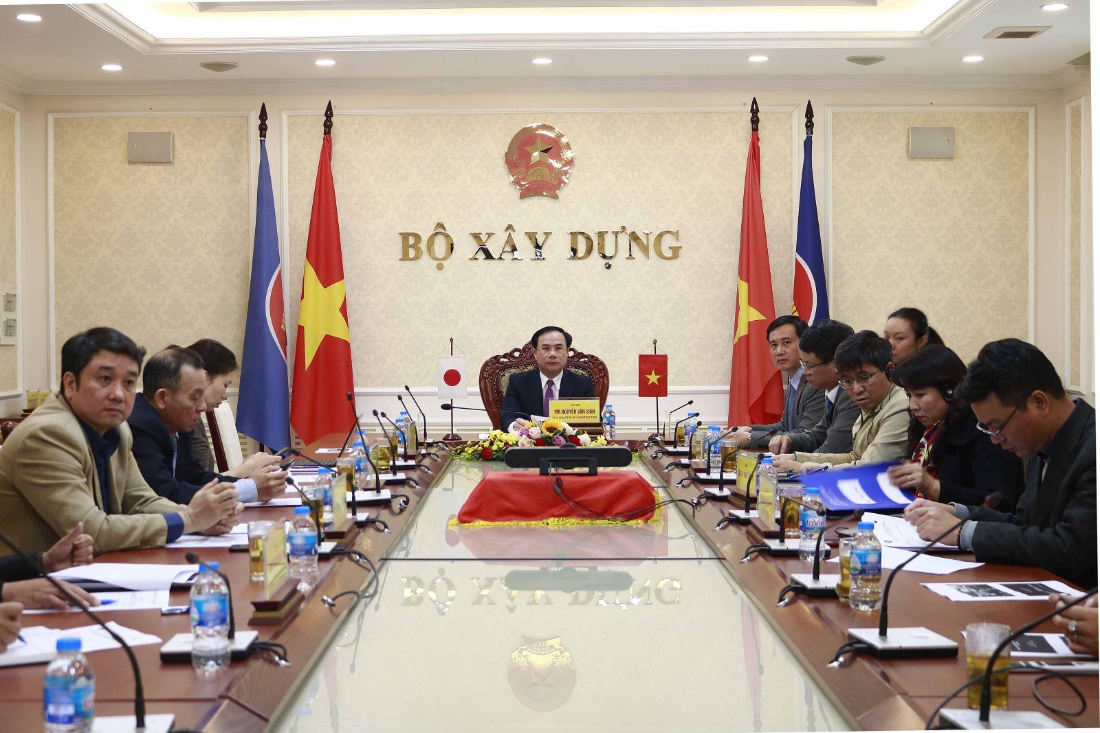 Thứ trưởng Nguyễn Văn Sinh đồng chủ trì hội nghị cấp cao Mạng lưới đô thị thông minh ASEAN – Nhật Bản lần thứ 2