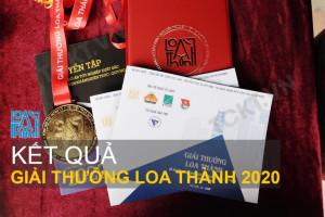 Kết quả Giải thưởng Loa thành 2020