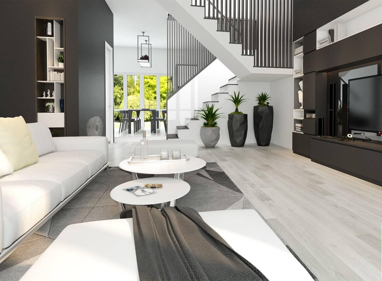 Sử dụng đồ nội thất sáng màu giúp căn phòng sáng lên trông thấy