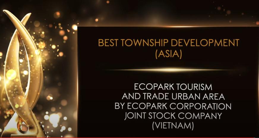 Dự án khu đô thị xuất sắc nhất Châu Á