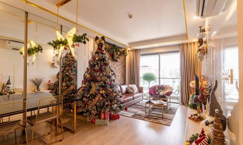 20 ý tưởng trang trí phòng khách mùa giáng sinh
