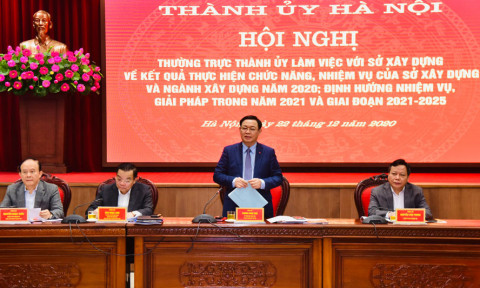 Hoàn thành chỉ tiêu Chương trình phát triển nhà ở thành phố Hà Nội giai đoạn 2011-2020