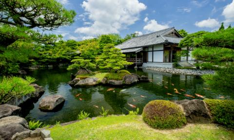 Vườn Nhật đậm chất xứ Phù Tang tại The Zenpark được thiết kế ra sao?
