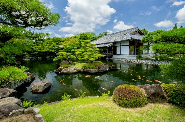 Vườn Nhật – đỉnh cao nghệ thuật xây dựng cảnh quan, là nguồn cảm hứng xây dựng vườn Nhật nội khu The Zenpark