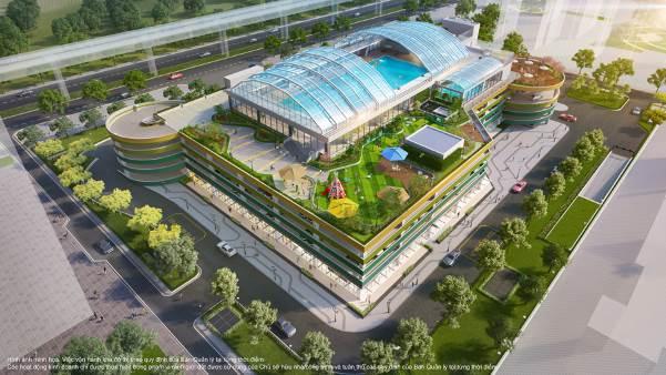 """Tổ hợp 5 tầng hiện đại kế cạnh The Zenpark mang tới cuộc sống """"Nghỉ dưỡng kép"""" bên cạnh vườn Nhật nội khu"""