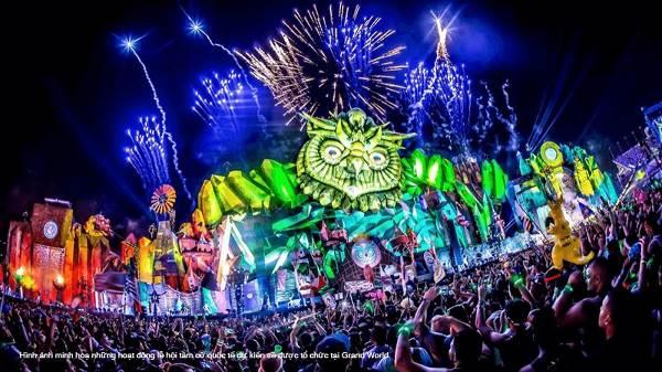 Những lễ hội bùng nổ diễn ra 24/7 tại Grand World sẽ là thỏi nam châm thu hút đông đảo khách du lịch