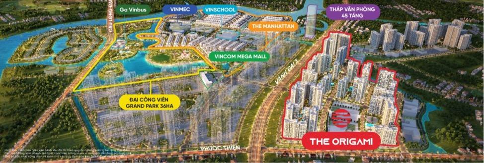 Thành phố tiện ích kim cương Vinhomes Grand Park