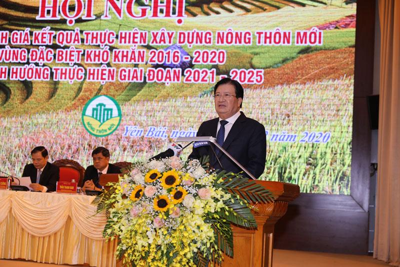 Phó Thủ tướng Trịnh Đình Dũng phát biểu chỉ đạo Hội nghị