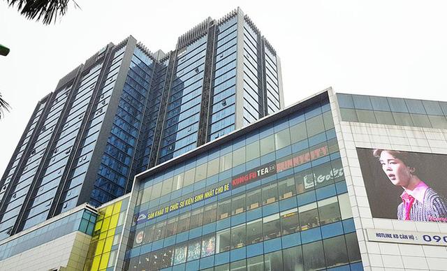 Trung tâm thương mại, văn phòng và căn hộ Artemis số 3 Lê Trọng Tấn (quận Thanh Xuân) xảy ra tranh chấp về diện tích sở hữu chung, sở hữu riêng trong tòa nhà. Ảnh: Đình Phong.