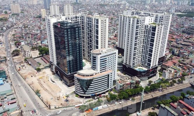 Dự án Khu văn phòng, nhà ở và nhà trẻ tại số 201 Minh Khai, phường Minh Khai (tên thương mại là Hinode City) dính nhiều vi phạm