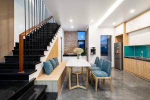 12 ý tưởng thiết kế cầu thang chỉ với 2 màu đen – trắng