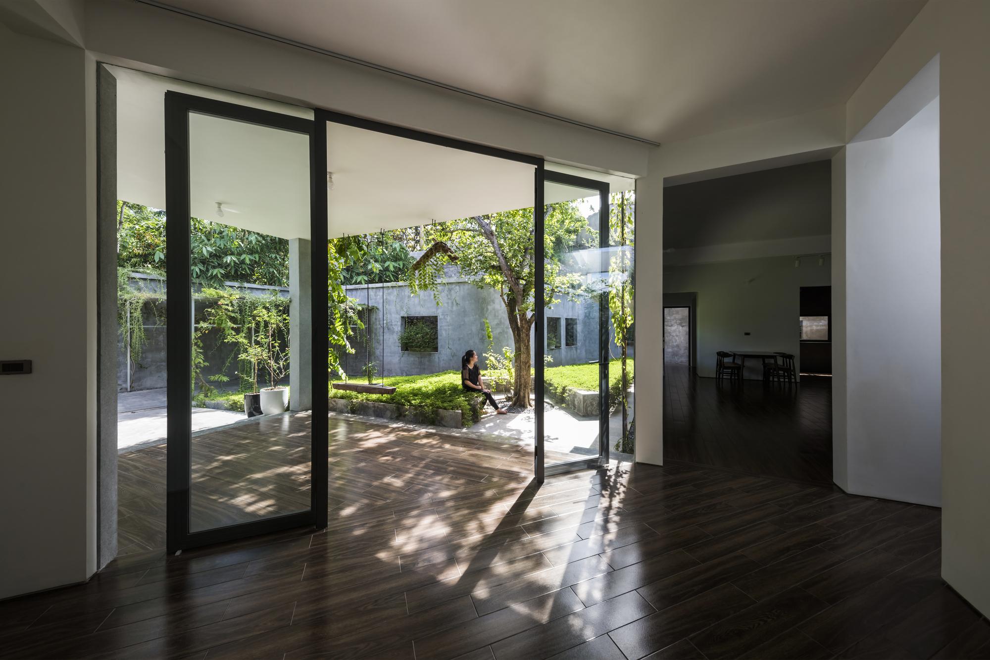 Thiết kế mở giúp không gian thoáng sáng tự nhiên