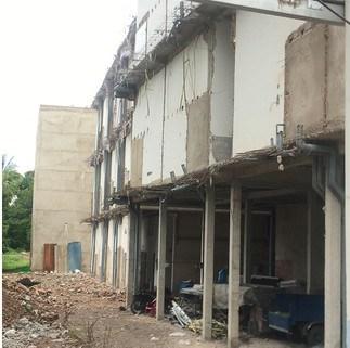 Một công trình xây dựng sai phép tại phường Linh Đông, TP Thủ Đức