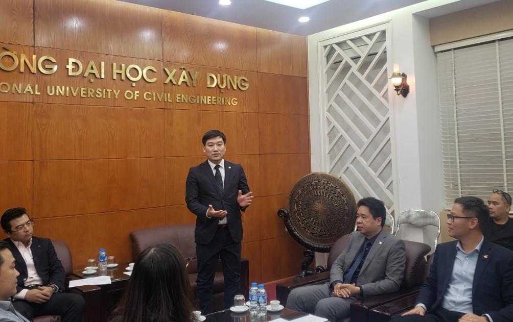 PGS.TS. Nguyễn Hoàng Giang, Phó Hiệu trưởng Trường Đại học Xây dựng