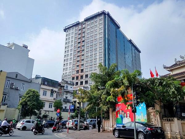 Tòa nhà 8B, Lê Trực, phường Điện Biên, quận Ba Đình
