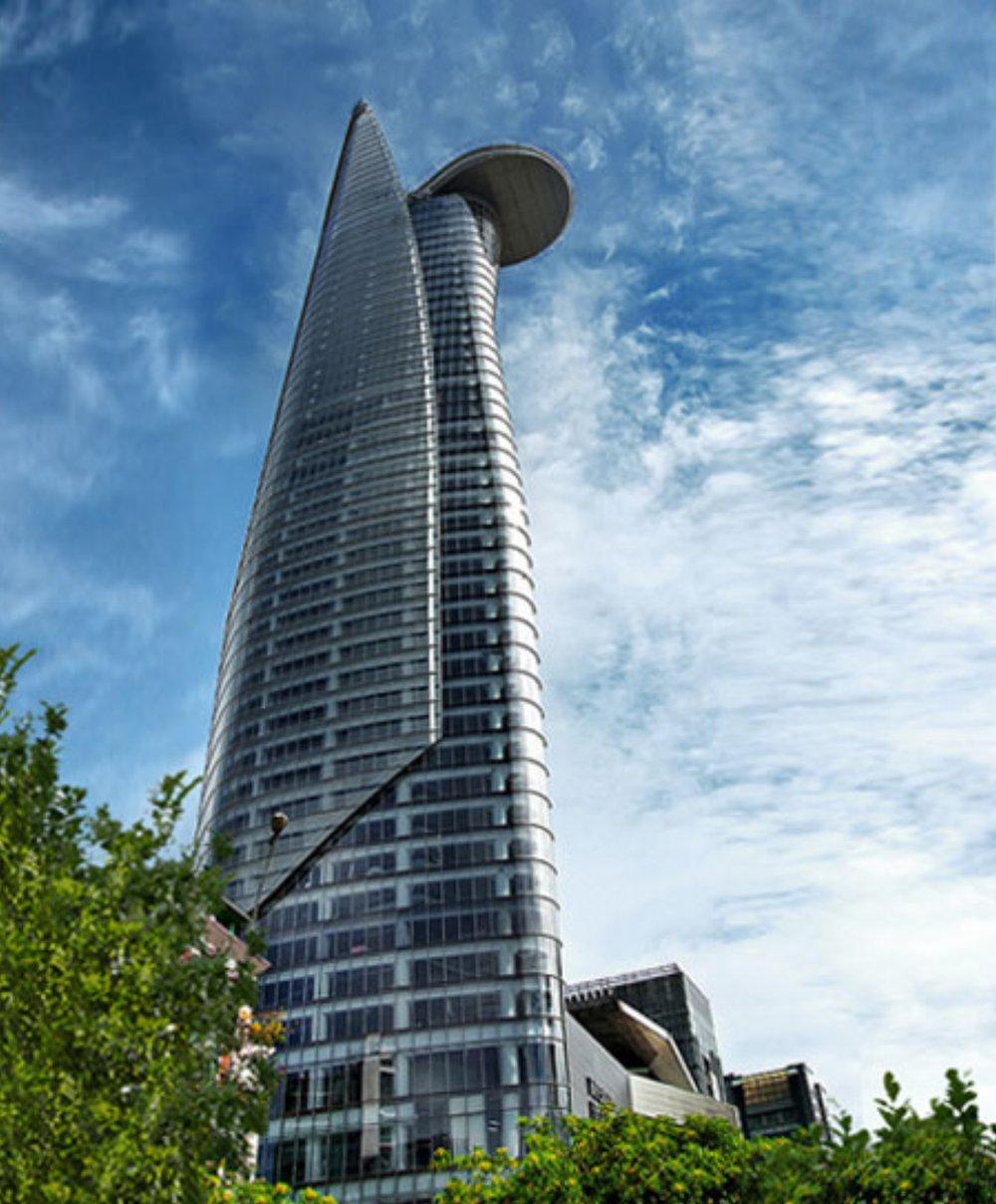 Bitexco Financial Tower tự hào là biểu tượng kiến trúc của TPHCM