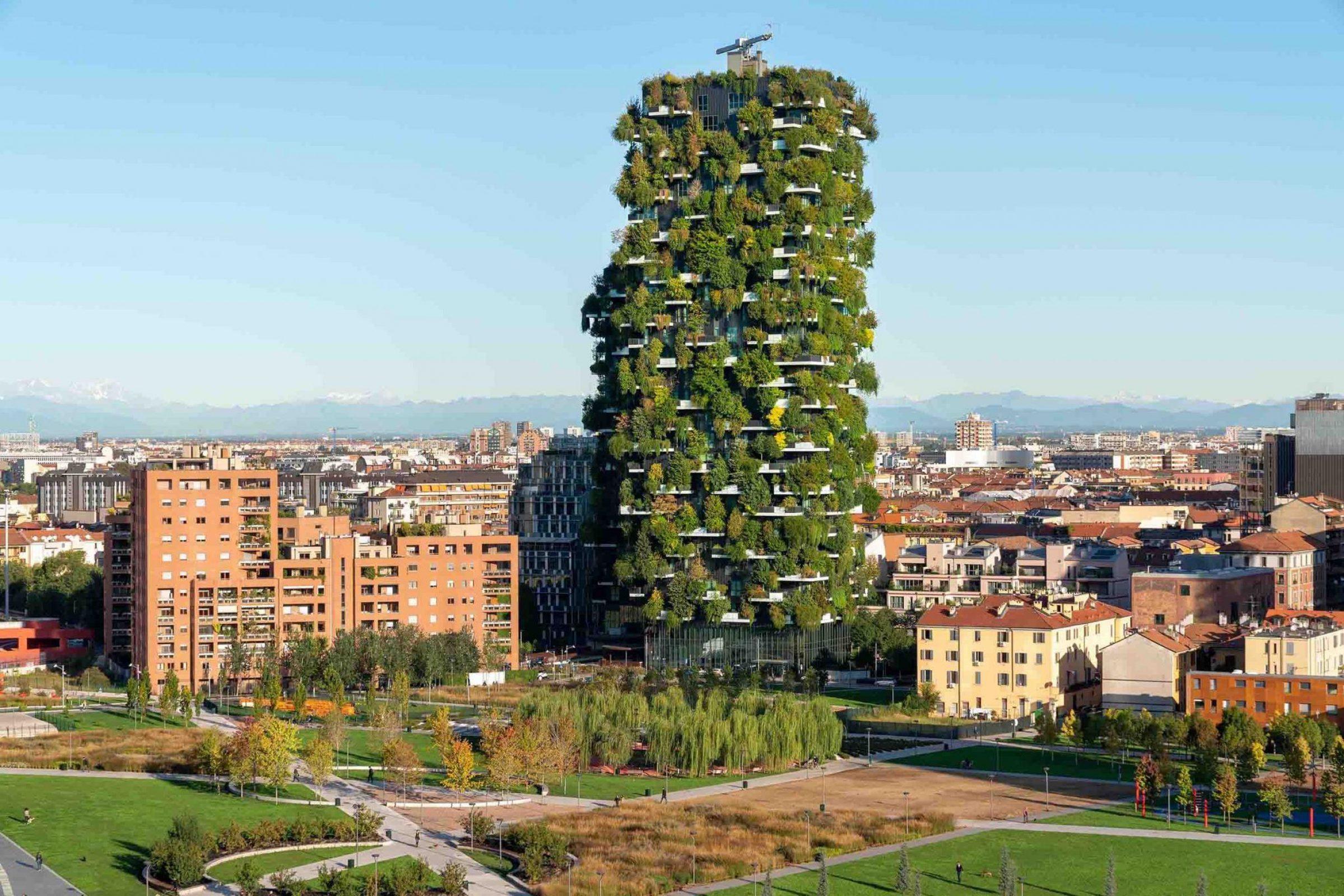 Bosco Verticale (Milan, Ý) - một trong những mặt tiền xanh nhất thế giới