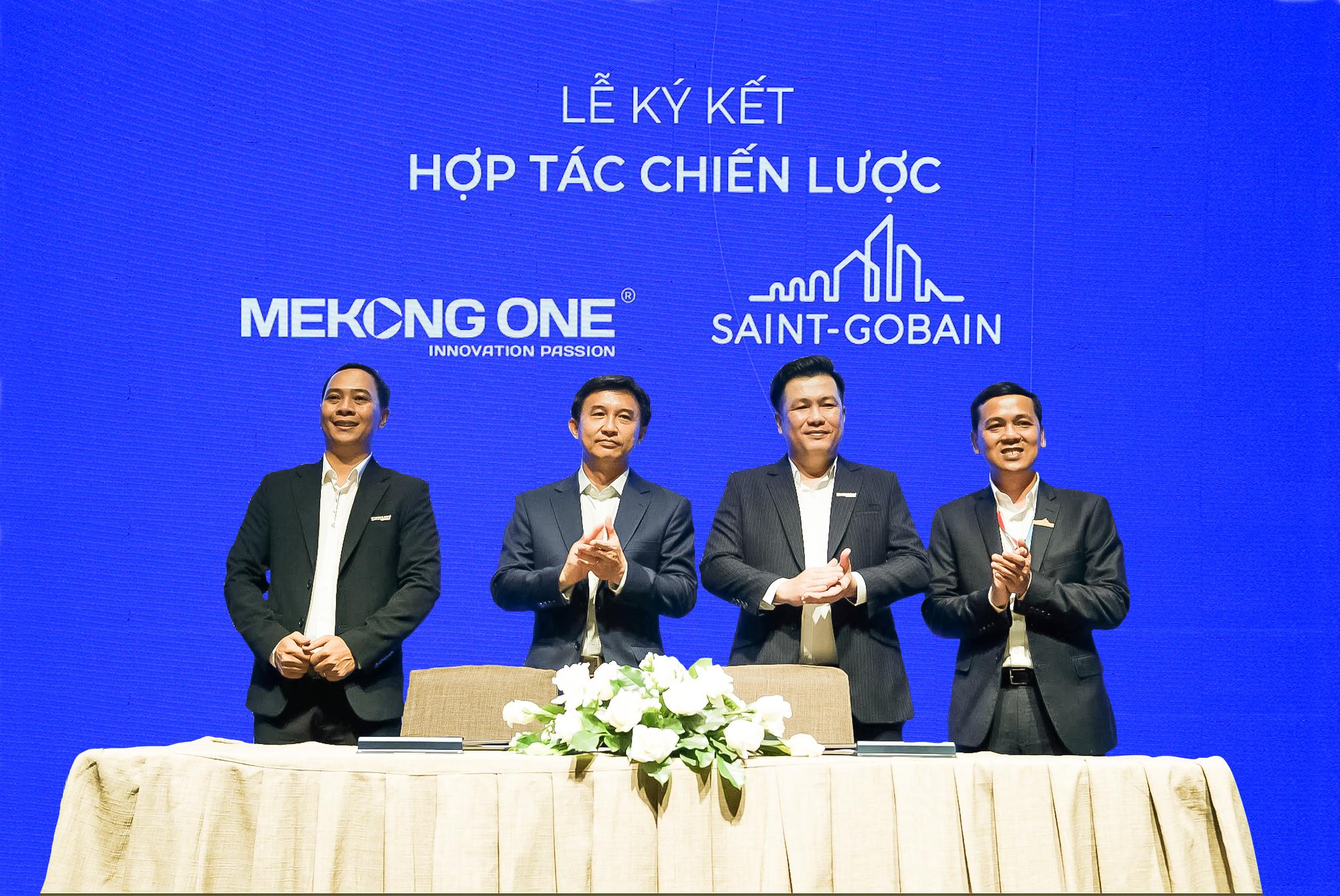 Hợp tác chiến lược Mekong One - Saint-Gobain