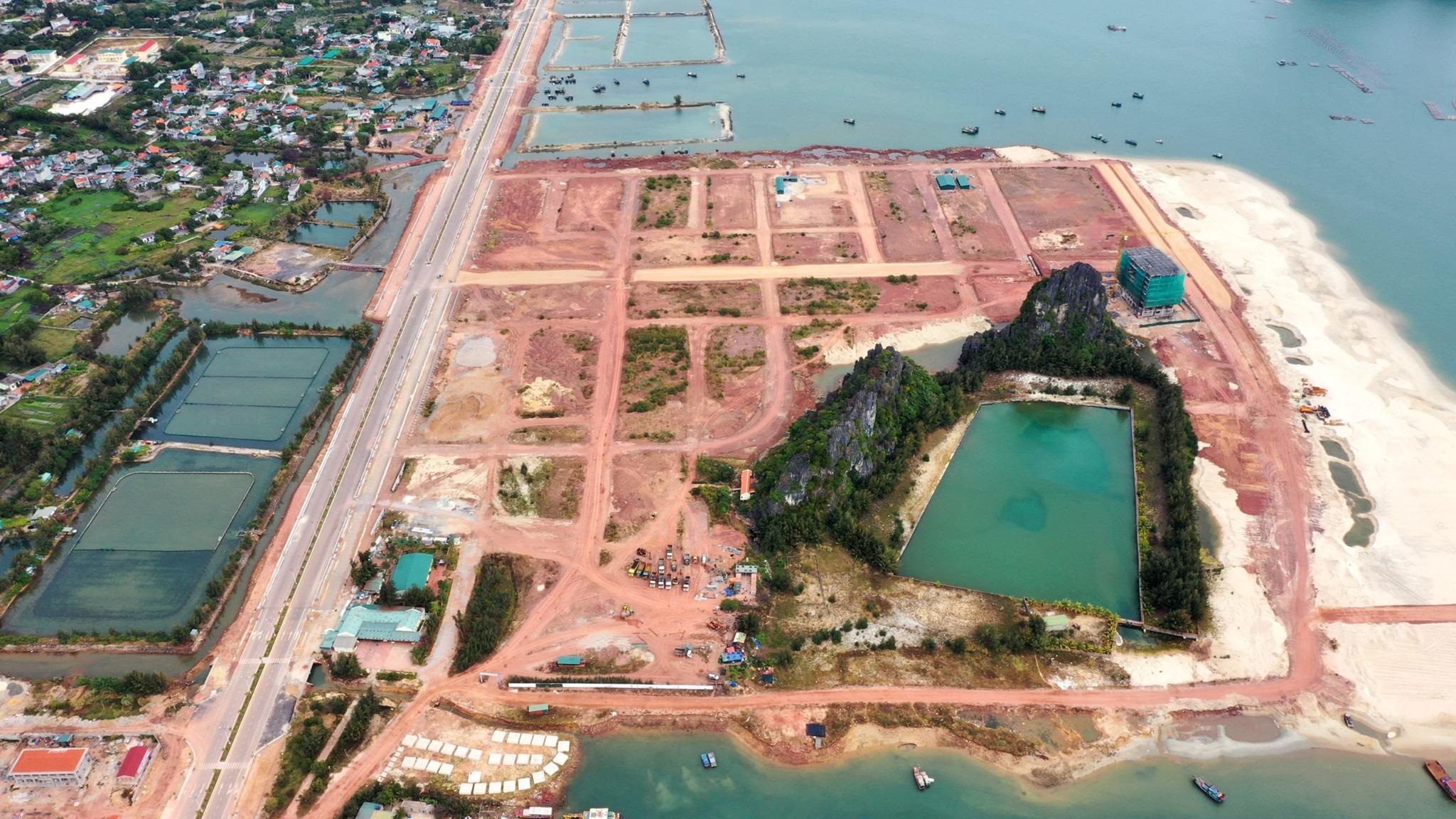 Một dự án BĐS ven biển tại Vân Đồn (Quảng Ninh)