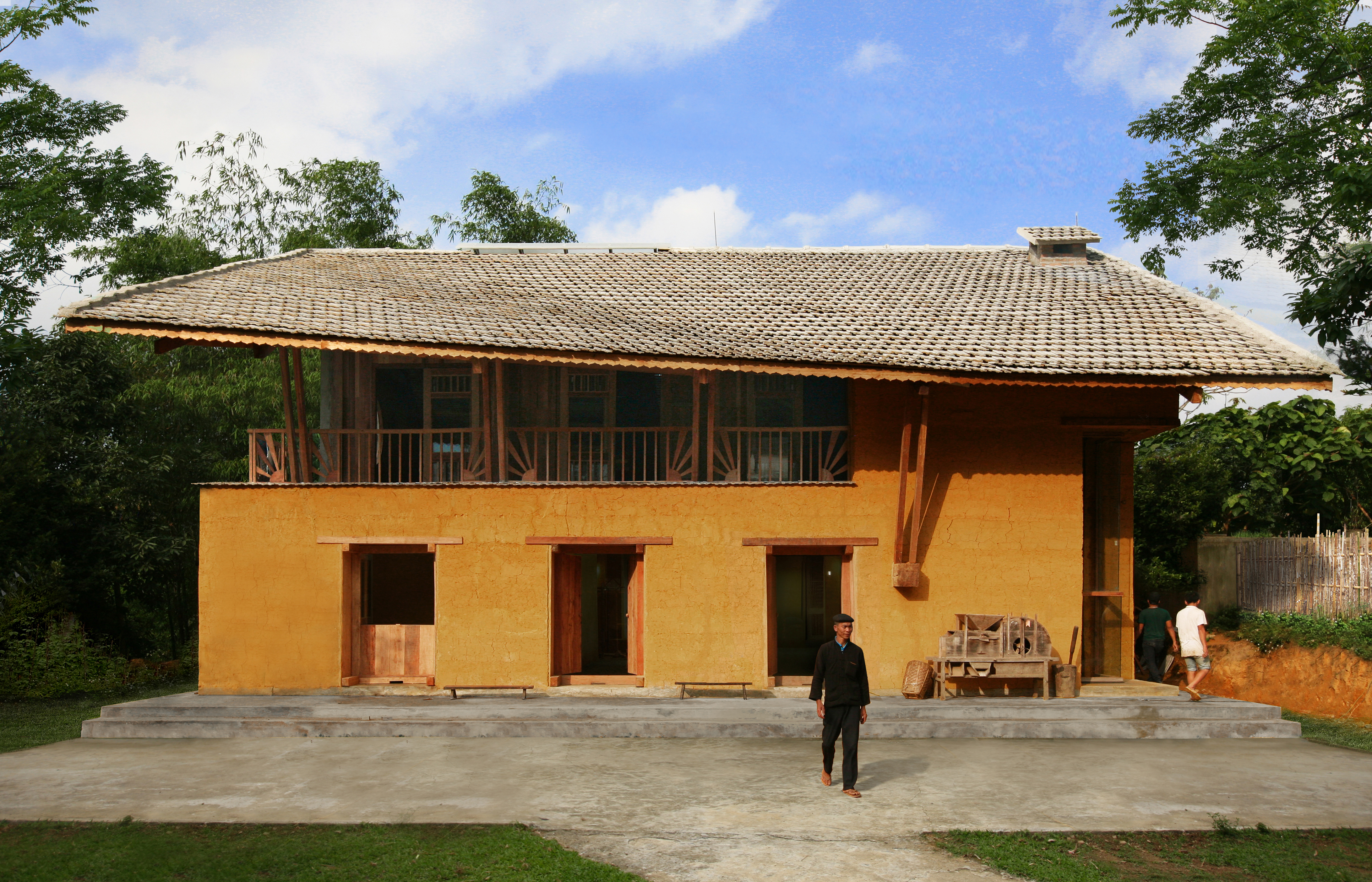 Nhà cộng đồng Nậm Đăm (Hà Giang) - Công trình thấm đẫm chất bản địa