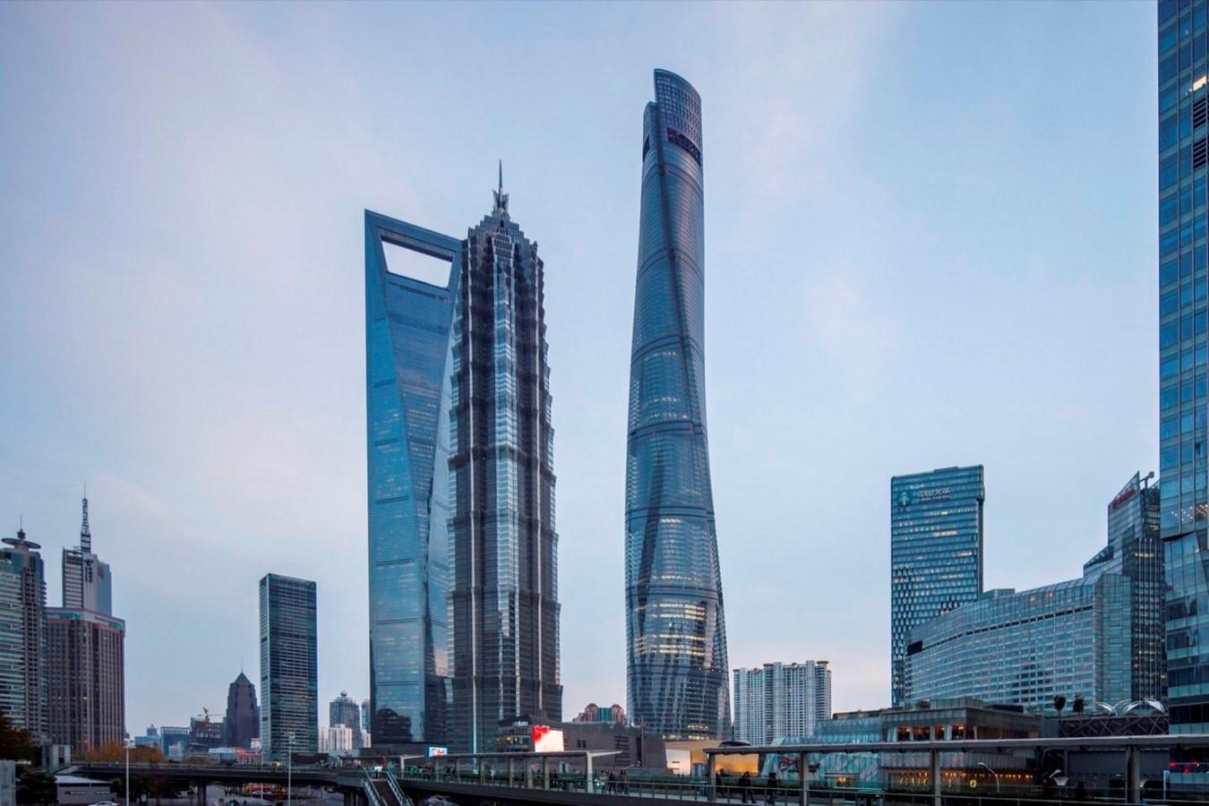 Tháp Thượng Hải - Tòa nhà xanh nhất thế giới